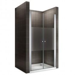 Porte de douche verre opaque