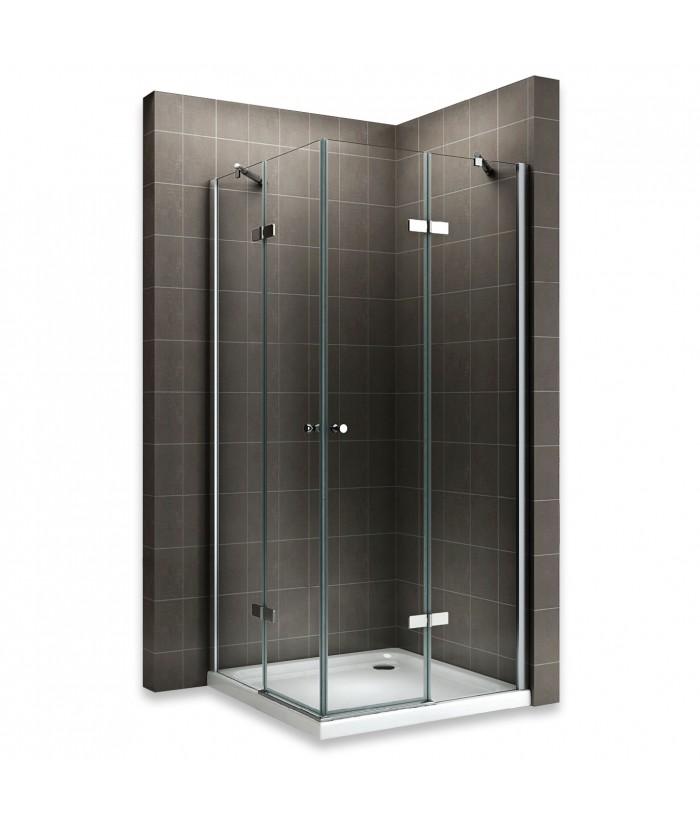 Cabine de douche verre transparent