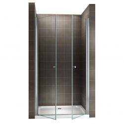 GINA Porte de douche H 180 cm largeur réglable
