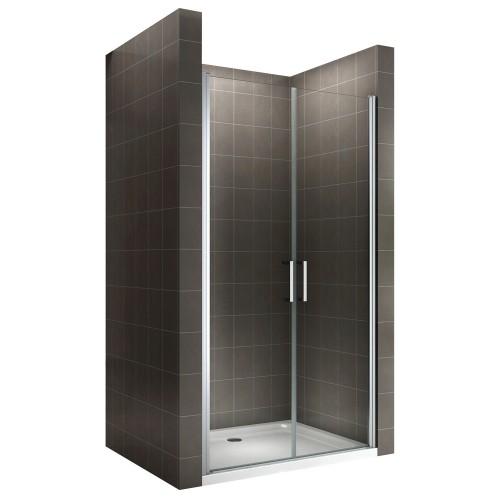 KAYA porte de douche verre transparent