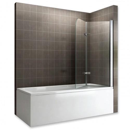 Pare-baignoire verre transparent