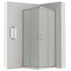 LANA cabine porte de douche coulissante transparente