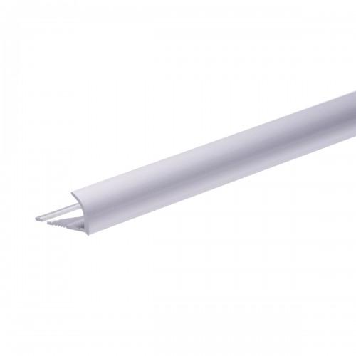 Profilé finition carrelage aluminium argent